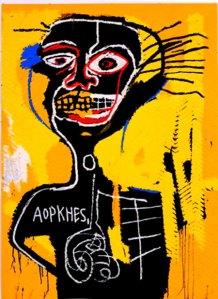 Art e çmenduri... Jean-michel-basquiant